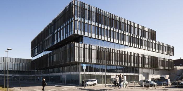 The Krona building in Kongsberg, Southeast of Oslo.