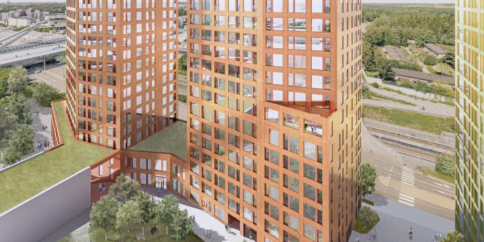 Skanska builds rental apartments in Helsinki.