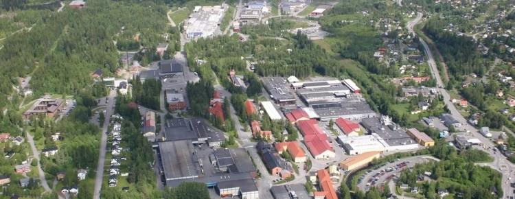 Raufoss Industripark.