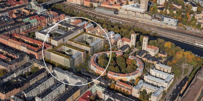 Skanska acquires in central Stockholm.