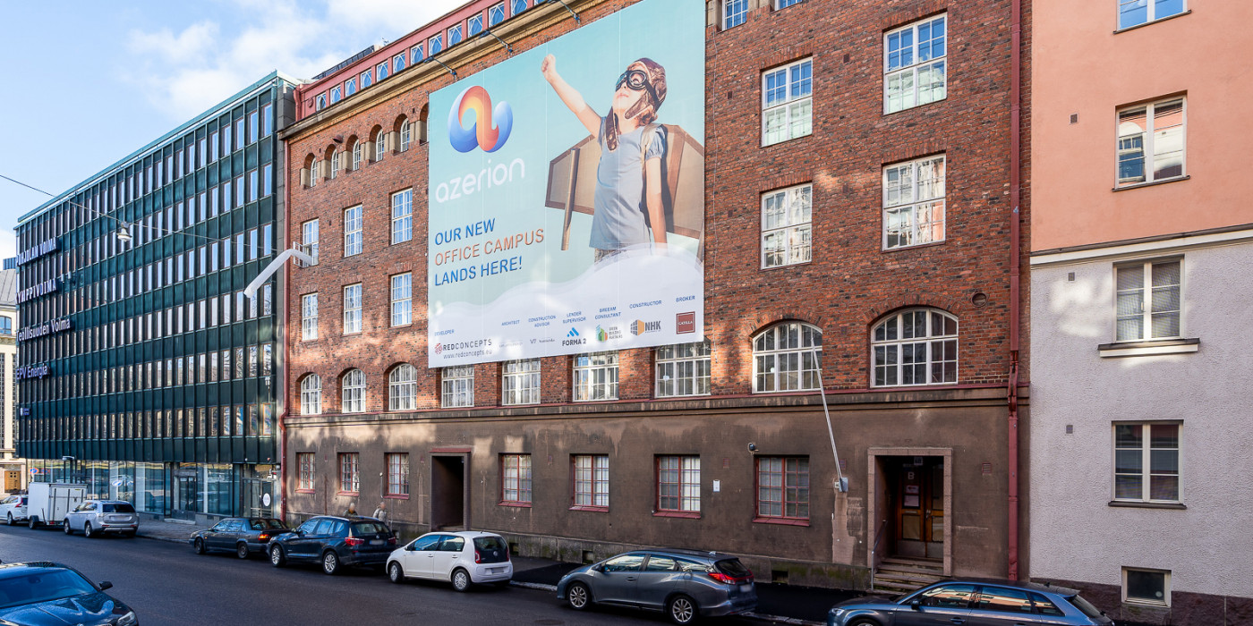 Real I.S. acquires office property in Helsinki.
