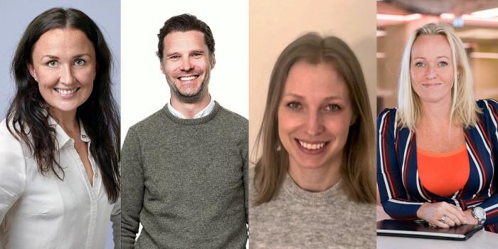 Sofie Bredberg Hanser, Erik Ihse, Sofie Jansson, and Britt Lindqvist joins NREP.