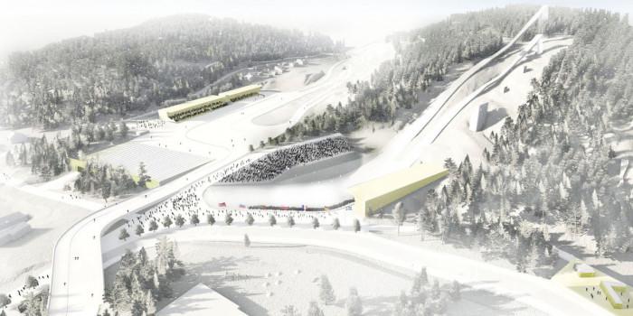 The Granåsen sports facility.
