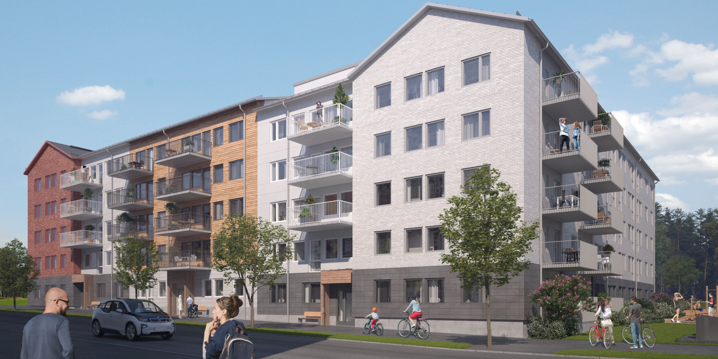Bonava sells 83 rental apartments in Umeå.