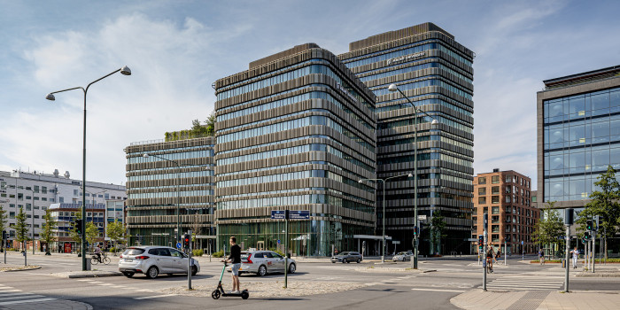 Intea's acquisition of the Malmö University building Niagara 2 (the image) and the Campus Kristianstad was one of the largest transactions in Q1