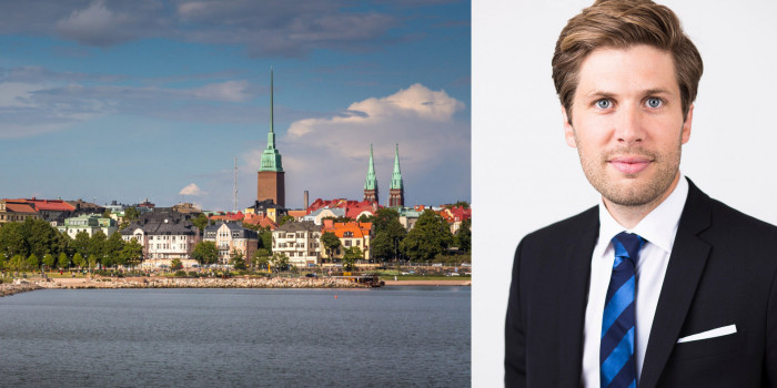 Oscar Lekander, Head of Business Development at SBB, sees a higher competition in Finland.