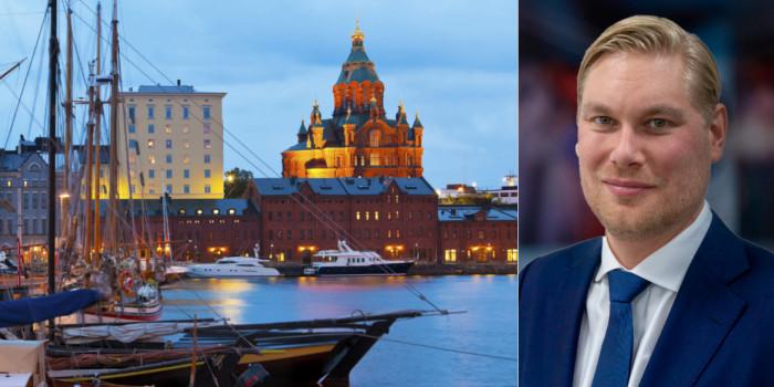 Janne Eriksson, Managing Director of Cushman & Wakefield in Finland.