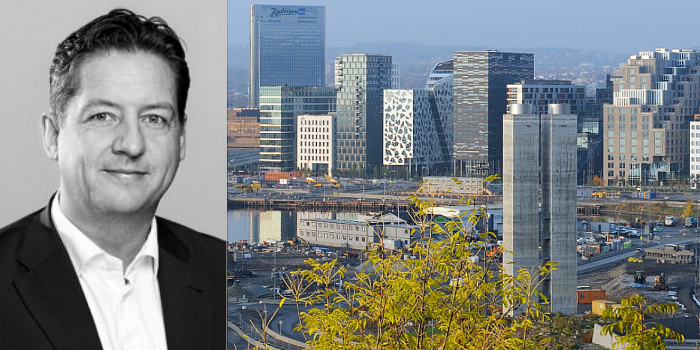 Bent Oustad, CEO of Norwegian Property.