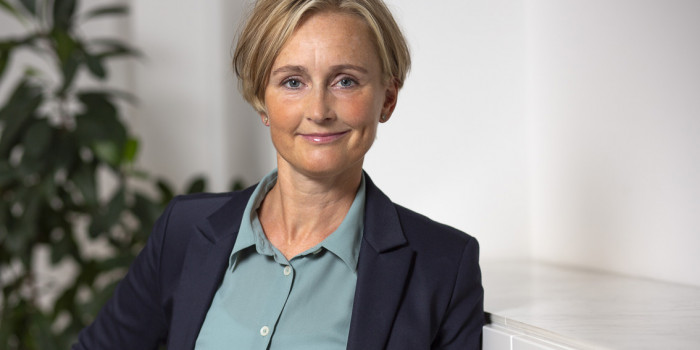 Stina Lindh Hök, CEO of Nyfosa.