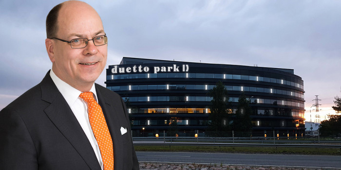 Risto Vuorenrinne, Investment Director at Trevian AM, and Duetto Business Park that has gained great success.