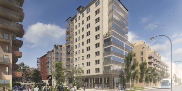 Peab builds rental apartments in Västerås.