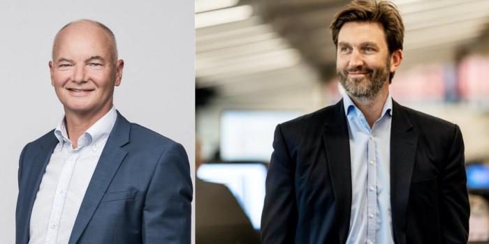 Boris Nørgaard Kjeldsen, CEO of Dades, and NREP's CEO Claus Mathisen.