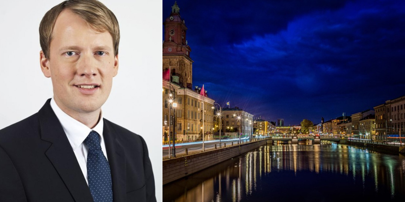 Daniel Andersson, Head of Acquisitions Niam Sweden, and Gothenburg city.