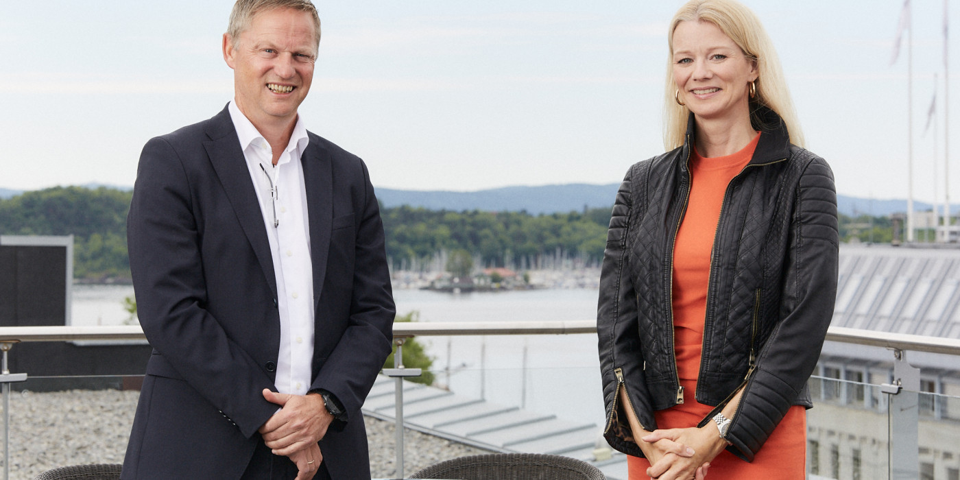 Petter Nylend and Kari Due-Andresen.