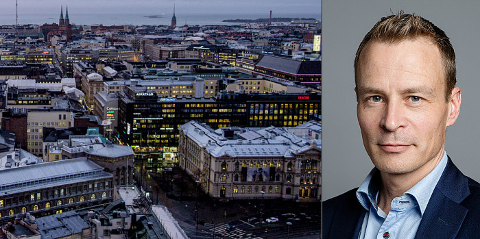 Juhani Erke, Head of Capman Real Estate Finland.