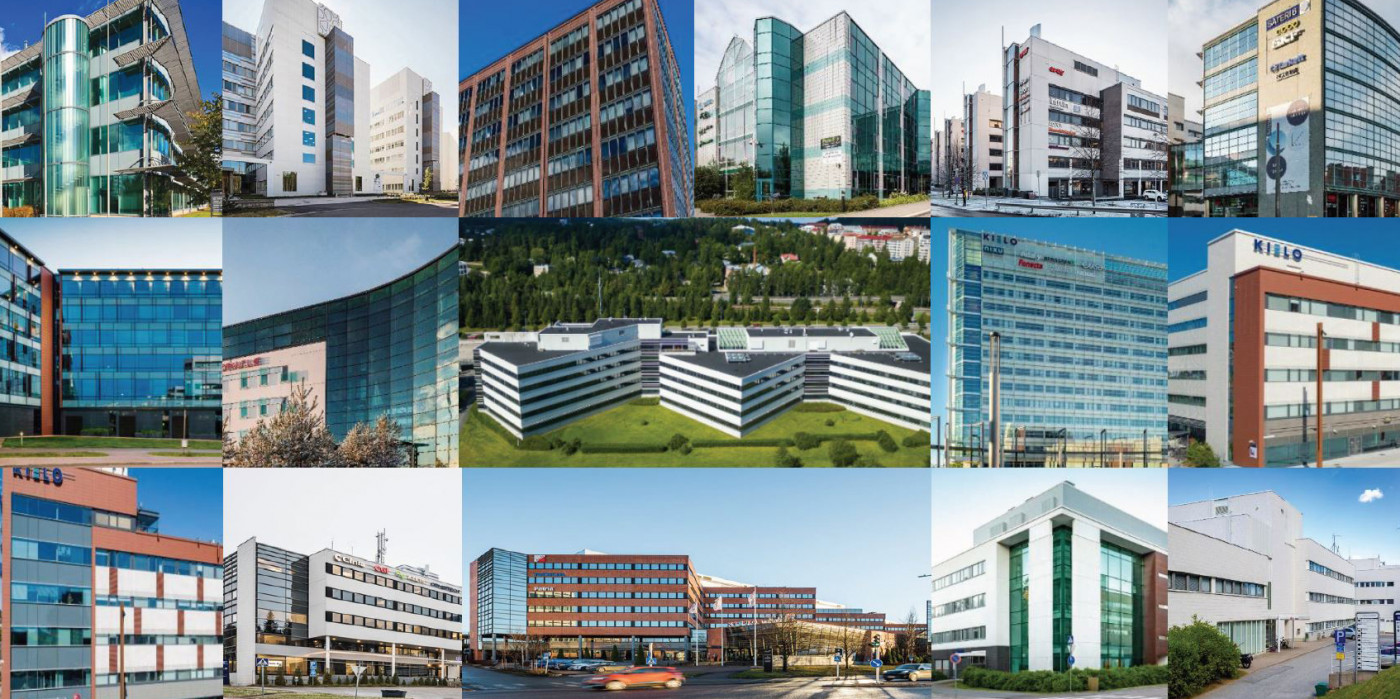 Properties in Kielo's portfolio.