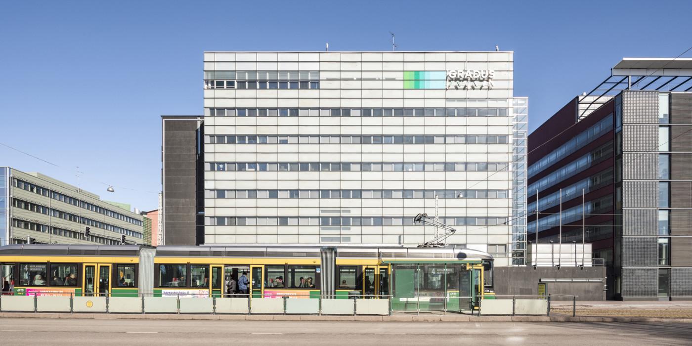 The Gradus building in Helsinki.