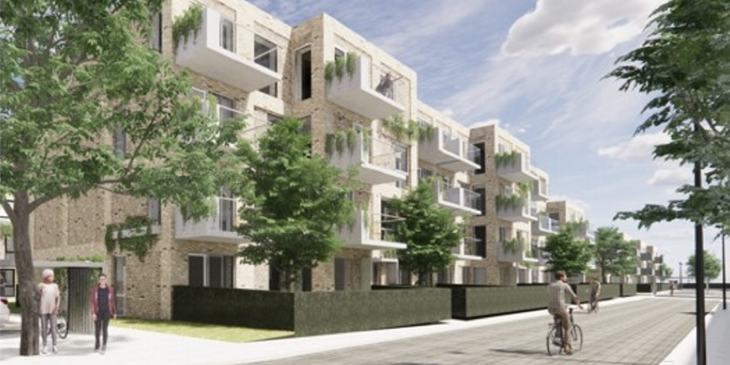 The development project Dalum Papirfabrik in Odense.
