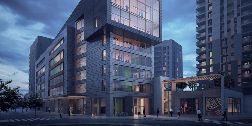 The Bulevardikortteli office complex block in Järvenpää.
