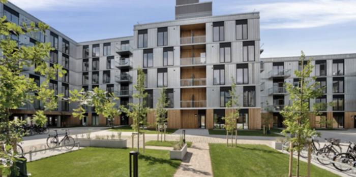 Catella buys residential complex in Aarhus.