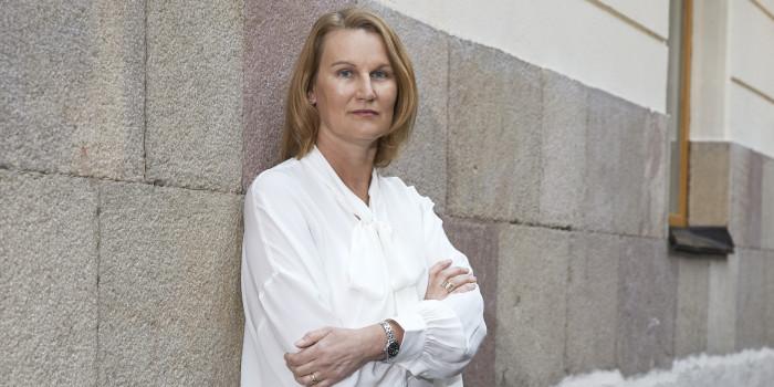 Eva Landén, CEO of Corem.