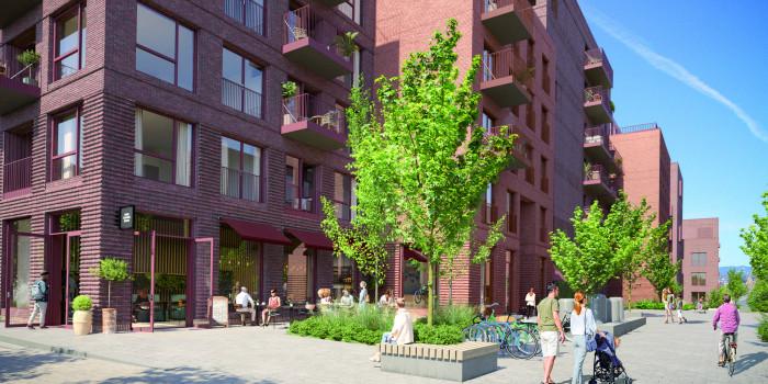 Skanska will create residential units for Obos in Bærum.