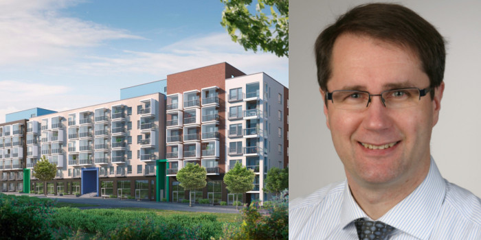 Vision of the recent acquired project in Vantaa, and Arto Aalto, Vice President, Investments at Sato.