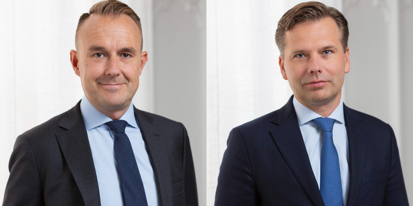 Niklas Zuckerman and Anders Nordvall.