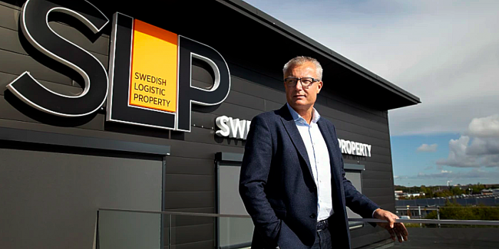 Peter Strand, CEO of Swedish Logistic Property.
