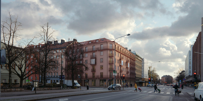 Balder builds apartments in Östermalm.
