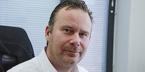 Ville Stenroos, CEO of Cityvarasto.