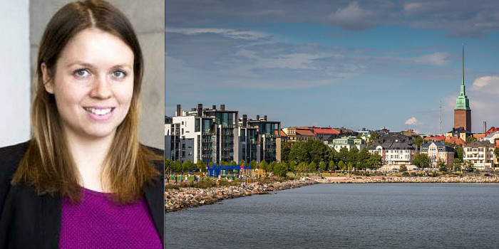 Jenna Kiukkonen, Sales Manager at Senate Properties, and Helsinki.