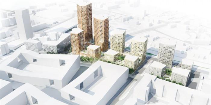 Skanska to build apartments in Helsinki.