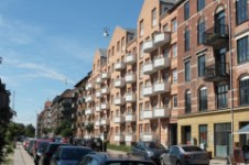 Residential units in Copenhagen.
