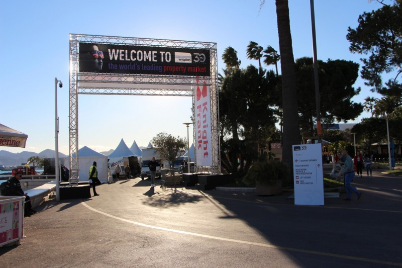 Even though Mipim starts today, many from the real estate industry were in Cannes yesterday.