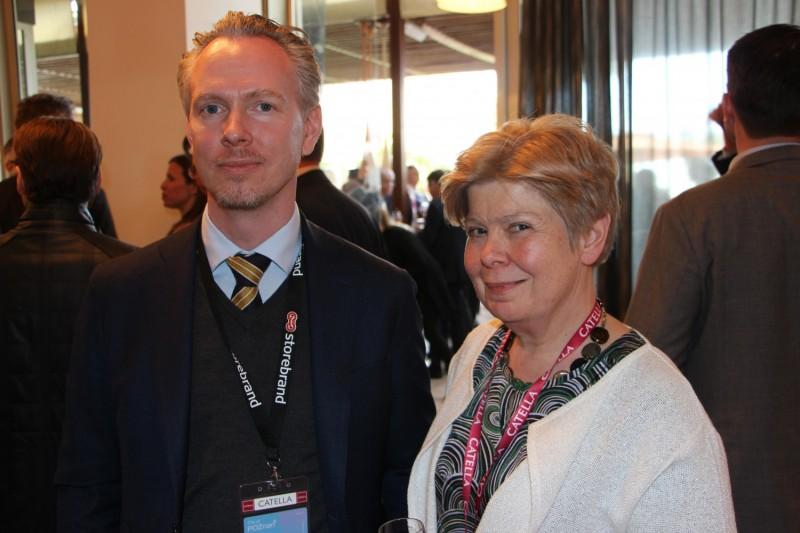 Henrik Svensson and Marita Loft, Storebrand.