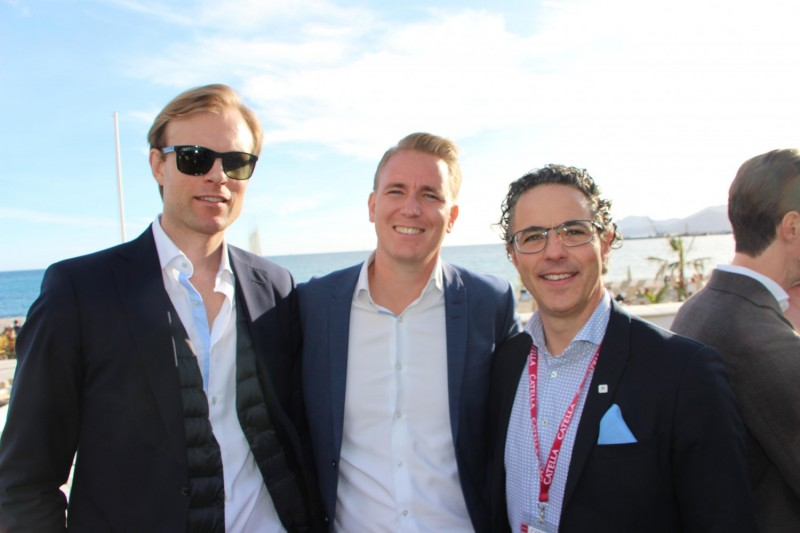 Fredrik Östberg, Bernstrom & Partners, Peter Lövgren, Genova and Daniel Massot, Svenska Hus.
