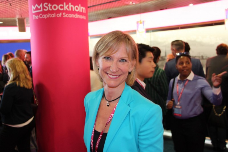 City Building Expert Kristina Alvendal.
