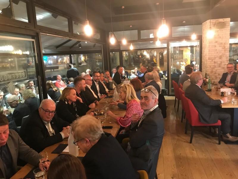 Business Region Göteborg's partner dinner.
