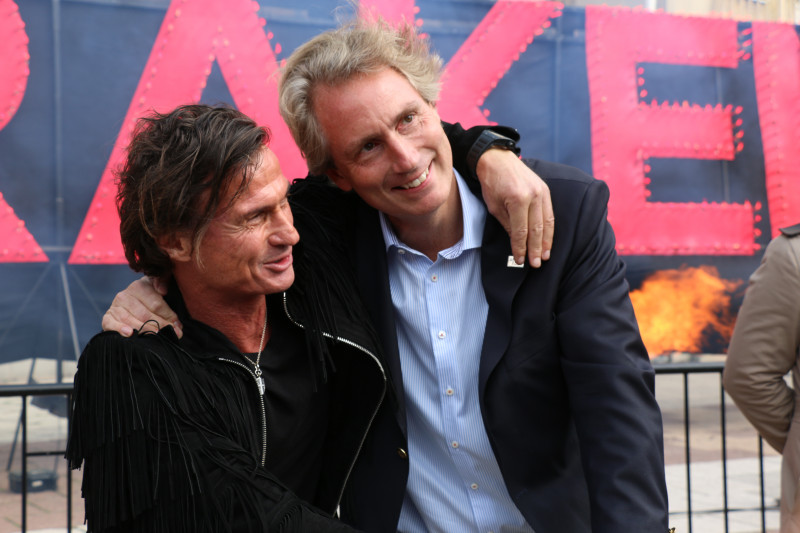 Petter Stordalen and Erik Selin.