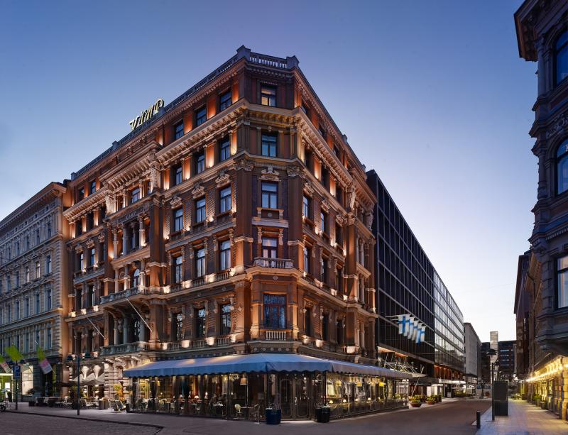 Kämp Hotel in Helsinki.