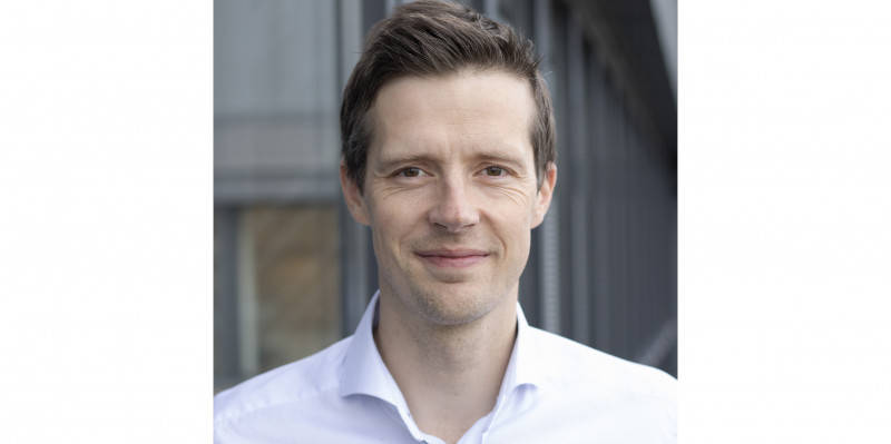 Veidekke's Director of Analysis, Kristoffer Eide Hoen.
